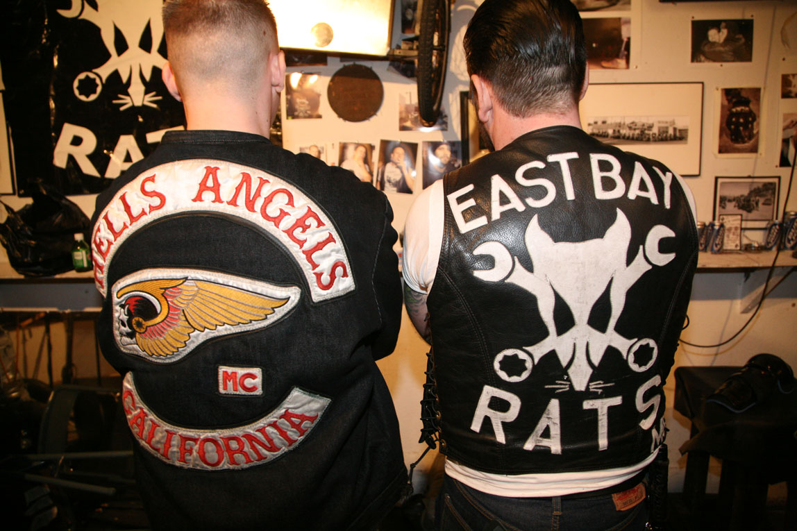 East Bay Rats Motorcycle Club / Oakland / Patches