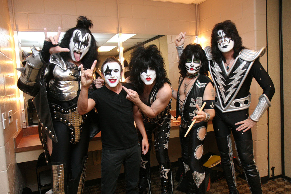 On tour with KISS / Houston / Texas / The Fifth Member