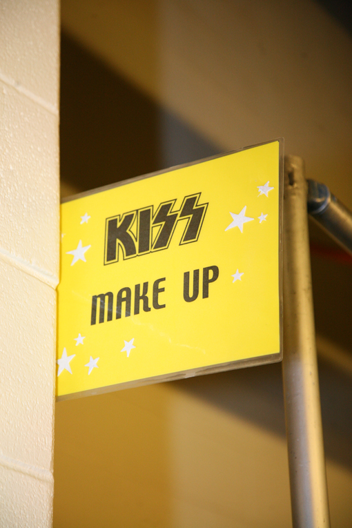 On tour with KISS / Houston / Texas / the Make-up